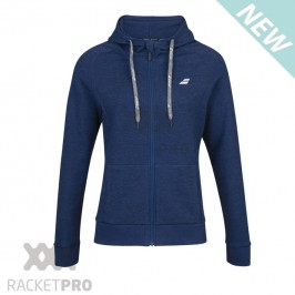 Babolat Exercise Hood Jacket Blue